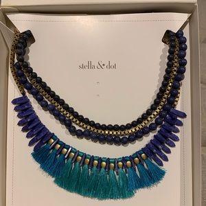 Stella & Dot; Tresse Statement Necklace